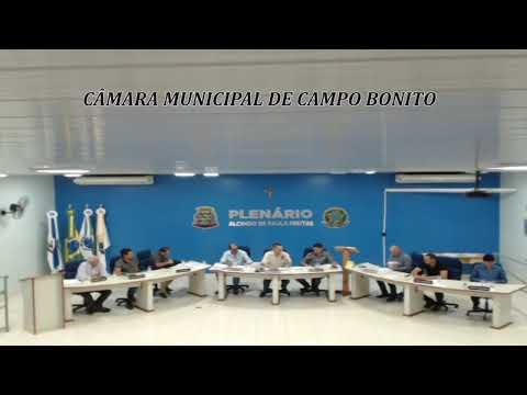 SESSÃO ORDINÁRIA 09/12/19 TV CÂMARA CAMPO BONITO