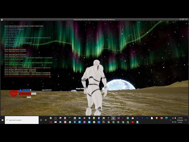 Aurora Borealis for Planet Oceana [UE4]
