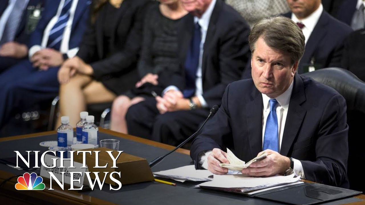 Woman Who Penned Confidential Brett Kavanaugh Letter Speaks Out   NBC Nightly News