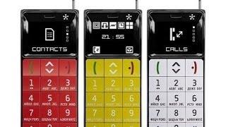 Стильный, мощьный и надёжный телефон с фишками  Just5 BRICK видео обзор