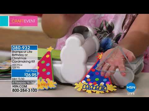 HSN | Paper Crafting Tools & Supplies 08.15.2018 - 06 PM