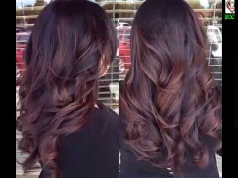 30 Hairstyles Featuring Dark Brown Hair With Highlights