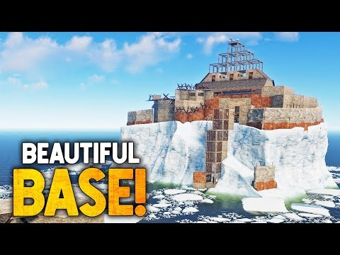 the PERFECT iceberg base? - Rust Base Tours