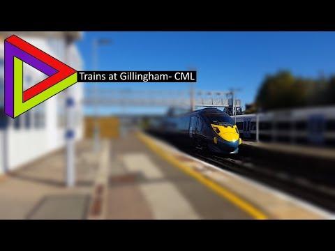 Trains At #63| Gillingham- CML [22/09/2017]