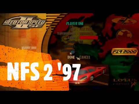 Your Childhood Was AWESOME If U Played This ! NFS 2 Se || FZR 2000