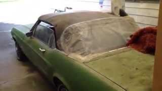 1968 Mustang convertible barn find