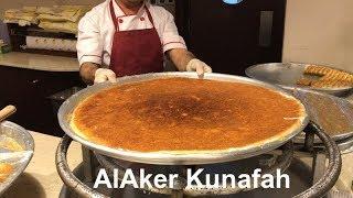 Best Kunafa in Doha (Alaker) | Arabic Sweets