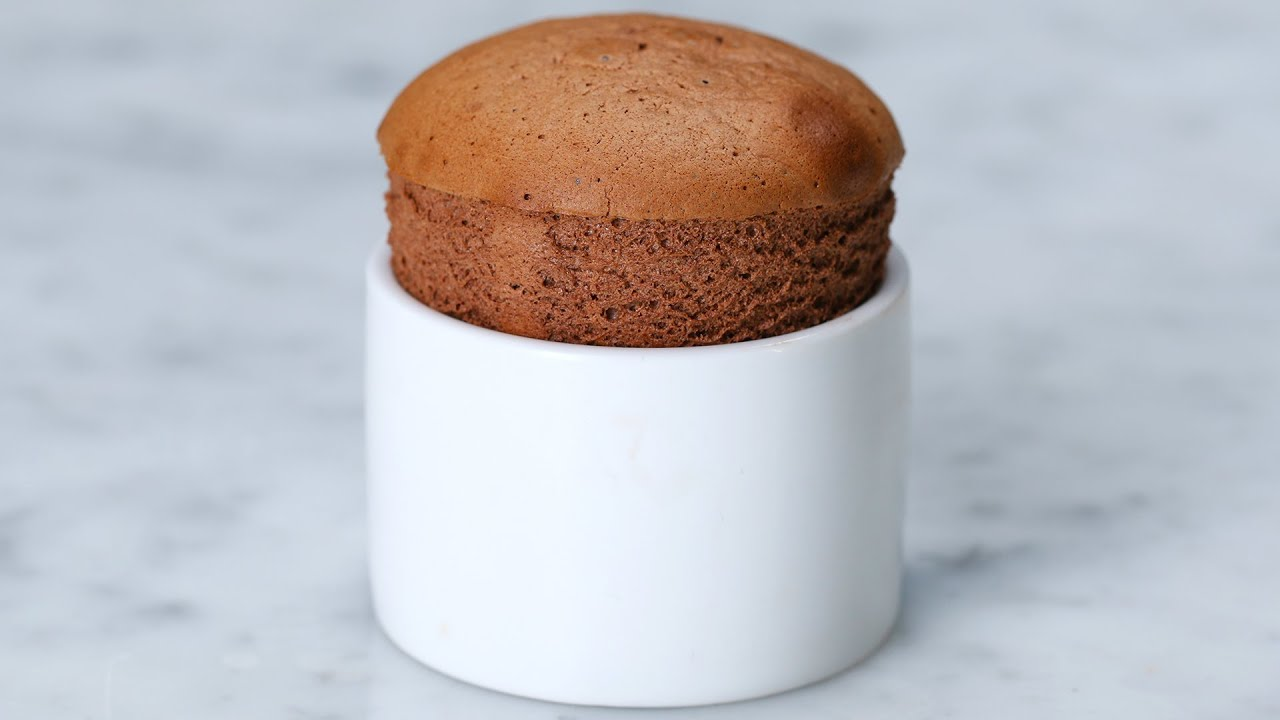 Chocolate Hazelnut Soufflé - YouTube