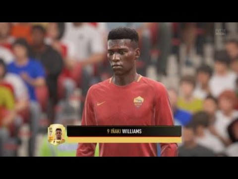 Fifa 18 Inaki Williams Goal Youtube