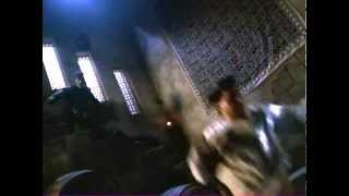 Mortal Kombat Conquest - Kung Lao vs. 3 ninja Lin Kuei