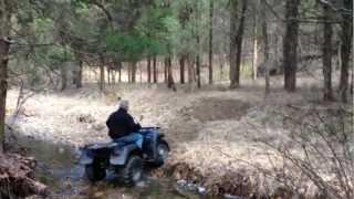 Atv Creek Crossing And Trail
