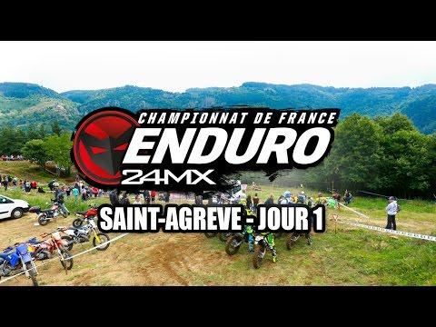 Enduro - Saint-Agreve : Résumé Samedi