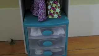 How To Make A Closet/dresser For Your Ag Doll!