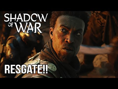 O RESGATE!!   - SHADOW OF WAR - #10 - [Dublado PC]