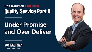 Ron Kaufman - Quality Service LIVE Part 8
