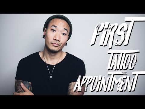 YOUR FIRST TATTOO APPOINTMENT | @THESTYLEDOGG
