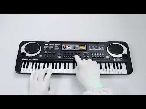 Piano for Kids, aPerfectLife Multi function 61 Keys Electronic Organ Kids Piano Musical Teaching