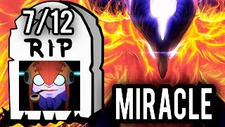 Miracle- Dota 2 How To Counter Tinker Pick Phoenix go MID! Epic Magic Show!