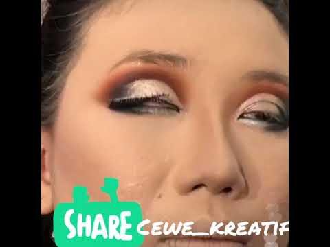 Makeup Mata Sipit ?? By Dewi Tian Part 1
