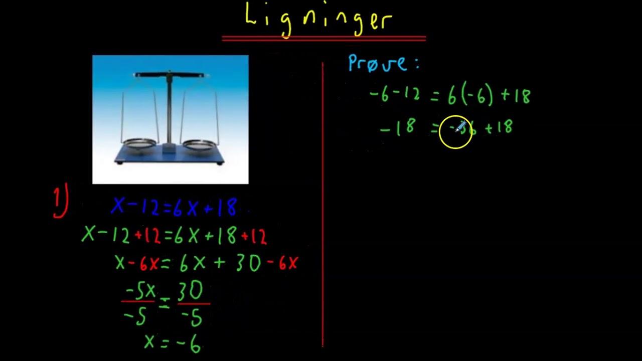 Ligninger 1T