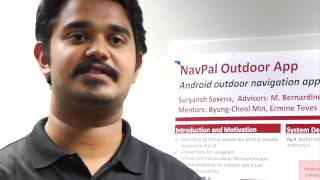 Robotics Institute Summer Scholars : 2014 : Suryansh Saxena