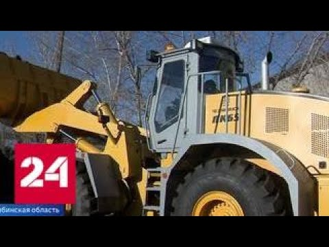 Российские бульдозеры и тракторы помогут восстановить разрушенные дома и дороги в Сирии