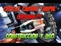 Cepillo Casero para Limpiar la Cadena de la MoTo & Limpieza y Engrase de la Misma