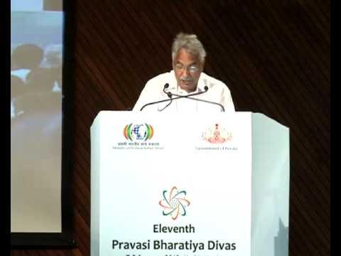 Pravasi Bharathiya Divas- Inauguration Ceremony-Kerala Chief Minister Shri.Oommen Chandy's Speech