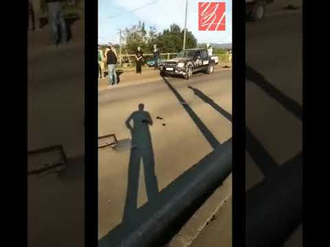 30.07.2019 — ДТП на выезде из Углегорска (Сахалин)