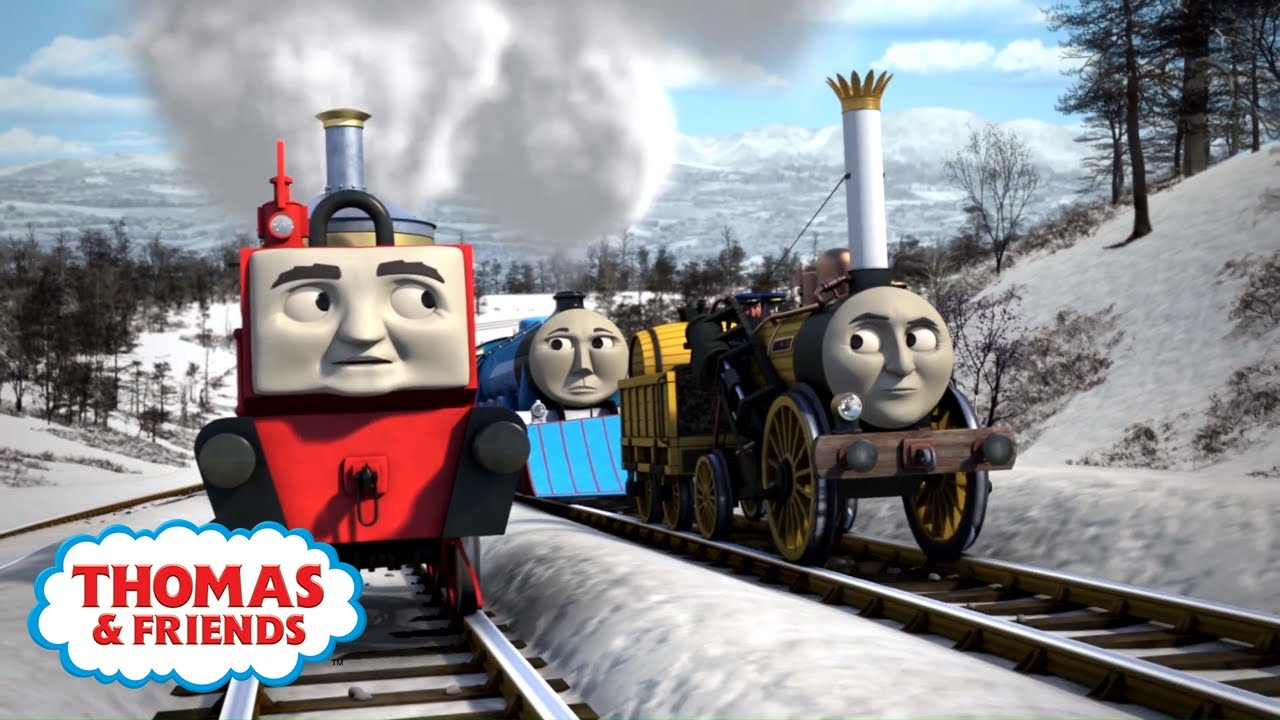 over the hill thomas friends youtube