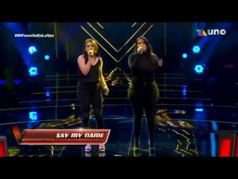 Daniela y Fuensanta / say my name / La Voz Mexico 2020