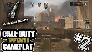 """""""Buzzer Beater V2 Rocket!"""" - Call of Duty: WWII Gameplay #2 - (82-7)"""