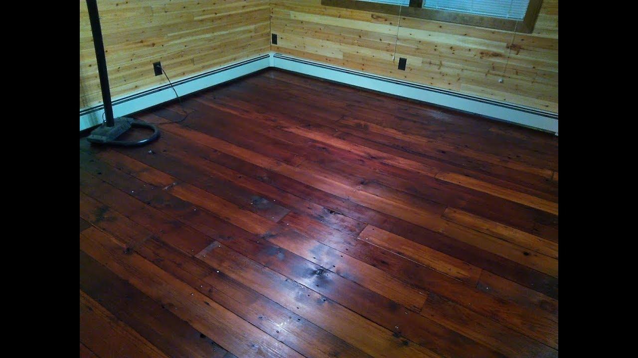 Diy Rustic Cedar Floor You