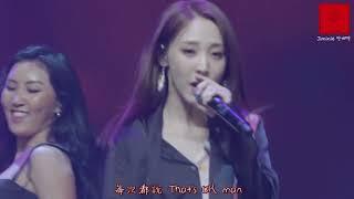 【Live中字】180717 MAMAMOO(마마무) - Egotistic(너나 해) @'RED MOON' FAN SHOWCASE LIVE