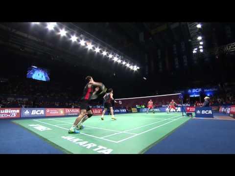 BCA Indonesia Open 2015 | Badminton F M5-MD | Ko S.H/Shin B.C vs Fu H.f/Zhang N.