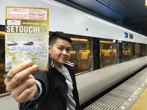 MAJIDE JAPAN X แนะนำบัตรรถไฟ JR WEST RAIL PASS