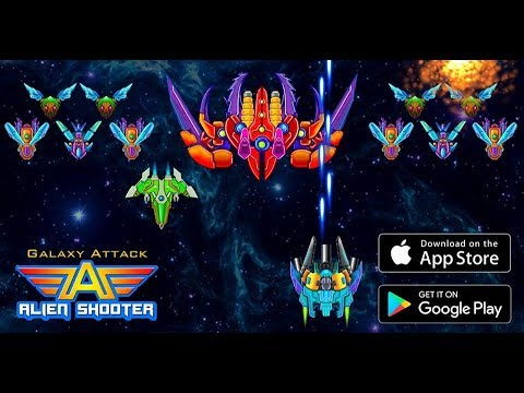 Download Galaxy Attack: Alien Shooter MOD Unlimited Money | MEWMOD.COM