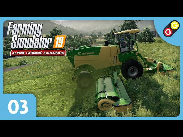 Farming Simulator 19 - Extension Alpine #03 On tond le gazon ! [FR]