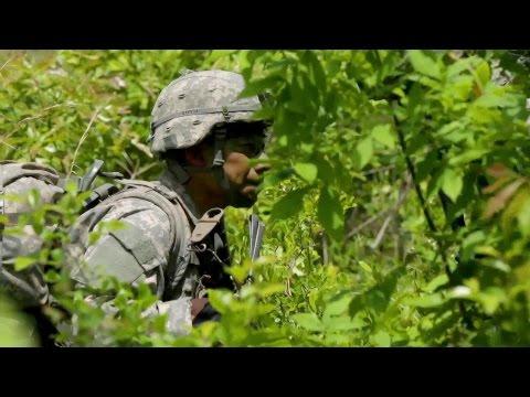 US Army Ranger - Patrols and Ambush Training