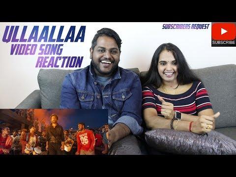 Ullaallaa Video Song Reaction | Malaysian Indian Couple | Petta | Rajinikanth