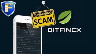 Bitfinex - SCAM | биржа Битфинекс - скам