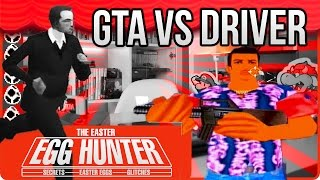 GTA VS DRIVER Easter Eggs - The Easter Egg Hunter