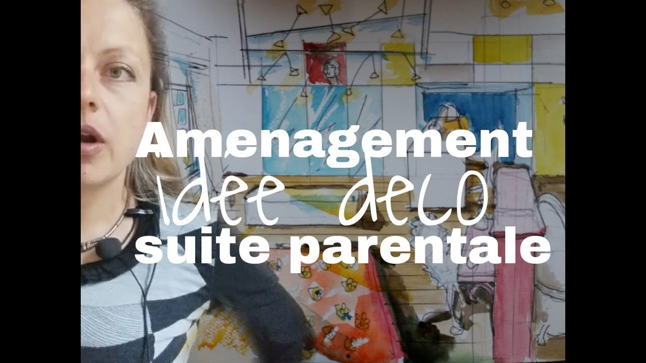 Conseil #aménagementet #plan suite parentale de 18 à 35 m2
