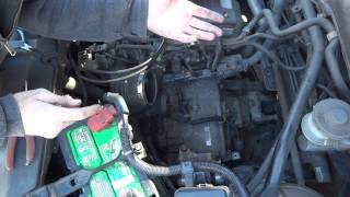 2002 honda crv p0845 blinking d light how to
