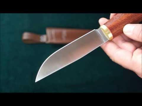 Охотничьи ножи из быстрореза своими руками