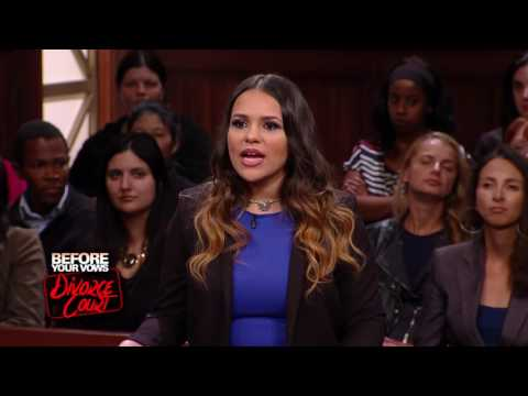DIVORCE COURT Full Episode: Lohuis vs Zuniga