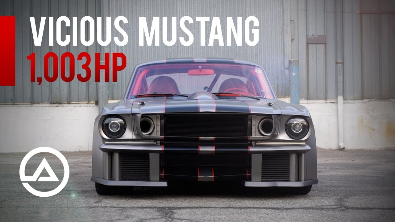 Ever wonder why we call it vicious mustang 1000 hp beast