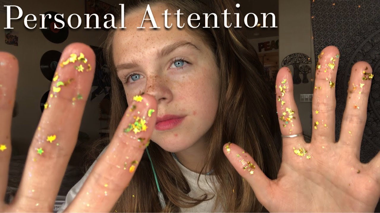 ASMR Personal Attention Triggers (Lotion, Scalp Massage, Glitter, Hair Brushing)