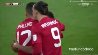 manchester united vs southampton 3 2 all highlights english league cup final 2017 26 02 2017