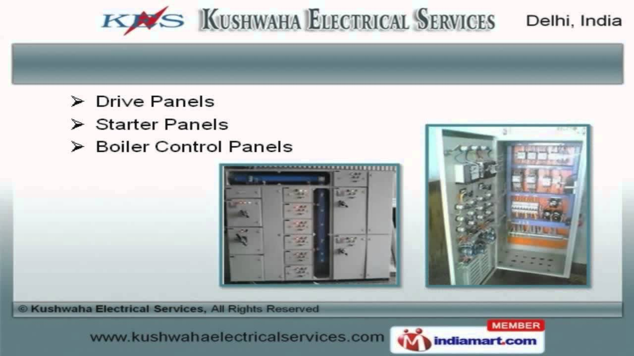 Amf Plc Pcc Control Panels By Kushwaha Electrical Services New Wiring Diagram Panel Ats Delhi Youtube